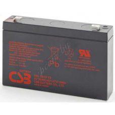 Аккумуляторная батарея 6V/9Ah CSB HRL 634W [F2] FR смотреть фото